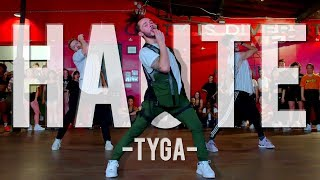 Tyga - Haute ft. J Balvin, Chris Brown | Hamilton Evans Choreography