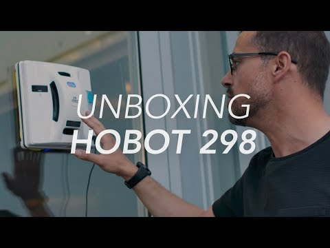 Unboxing Hobot 298 Window Cleaning Robot - Gadget Flow Unboxing