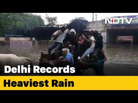 Delhi Sees Heaviest