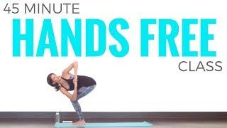 45 Minute Hands Free Yoga Class Trailer   www.SarahBethYoga.com