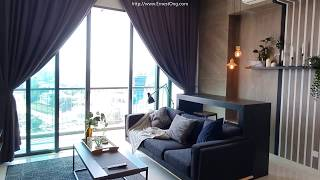 TENANTED : Vogue Suites One KL Eco City 1 Bedroom 1 Study Room unit for Rent and for Sale