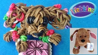 "Loom Bands / Rainbow Loom Christmas Dog Charm ""webkinz Gingerbread Puppy"" Inspired By Ganz"