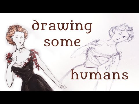 Basic Figure Drawing for Costume Designers || My Costume Rendering Process