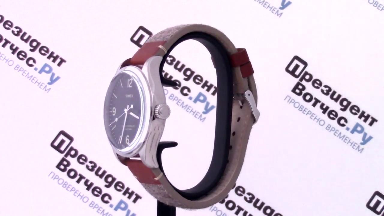 Часы Timex TW2P95600 Часы AA Wooden Watches S3-Black