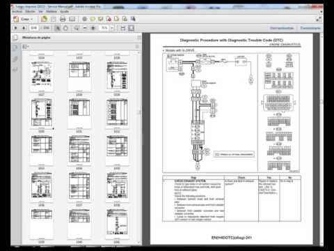 Subaru Impreza Wiring Diagram 2008 Sink Drain Line For 2011 Service Manual Youtube