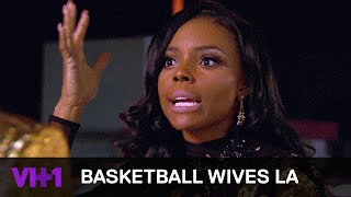 Duffey Thinks Angel Love Should Run From Jackie Christie | Basketball Wives LA by : VH1