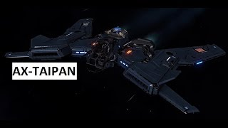 Elite:Dangerous - a first test of the taipan AX