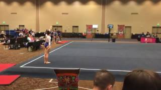 Delainey Penrod AGA level 4 Perfect 10 Floor 03-11-17