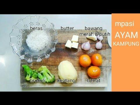 Resep Cara Membuat Menu Mpasi Bayi 8 Bulan Ke Atas Baby Food Menu Recipes Youtube