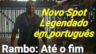 Spot de Rambo: Até o fim Legendado em português