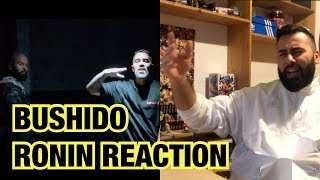 BUSHIDO - RONIN (prod. by Bushido) | CCN4 mit ANIMUS | Live Reaction