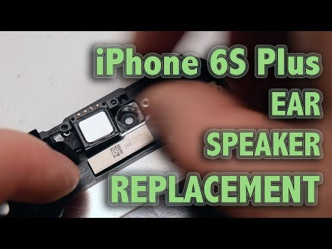 hot sale online c15c1 3ceb8 iPhone 6S Plus Ear Speaker Replacement - YouTube