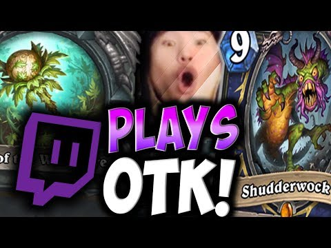 TWIG OF THE WORLD TREE Is Good In TAVERN BRAWL OTK! | TWITCH PLAYS | THE WITCHWOOD | DISGUISED TOAST