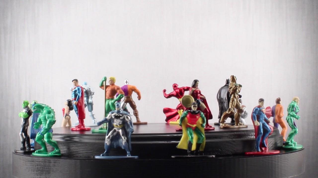 DC COMICS Wonder Woman 100/% Die-Cast Nano Metalfigs 2017 NEW
