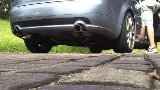 2003 A4 B6 1.8TQS - 034HFC & Billy Boat Cat-Back Exhaust