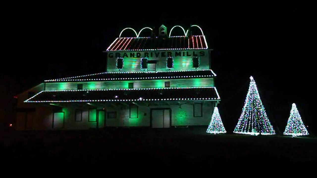 Caledonia Old Mill Light Display - Carol of the Bells (2009) & Caledonia Old Mill Light Display - Carol of the Bells (2009) - YouTube azcodes.com