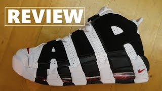 Nike Air Uptempo More Scottie Pippen PE Sneaker Detailed Look Review