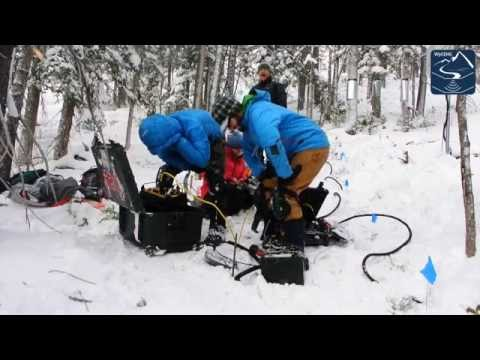 Tracking Water Movement Using Geophysics: Andrew Parsekian and Students