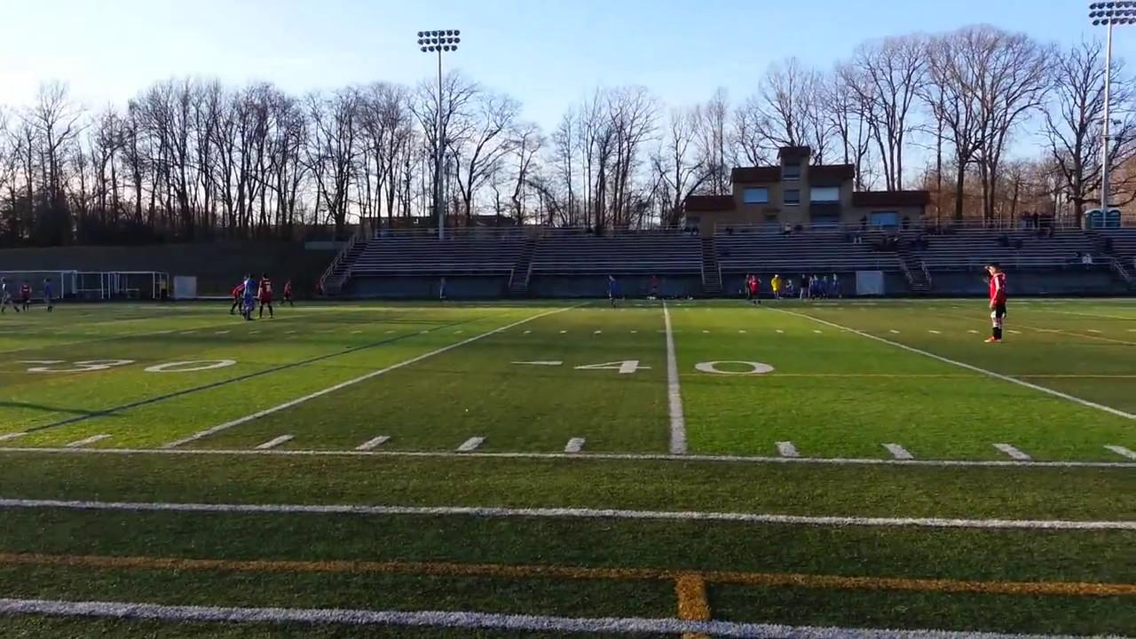 Juego De Futbol En La Liga De Invierno En Maryland Youtube