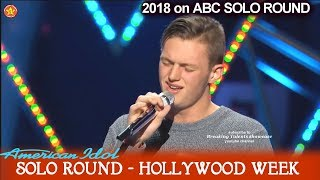 "Jonny Brenns ""Where Did It All  Go Wrong""  Solo Round Hollywood Week American Idol 2018"