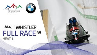 Whistler | BMW IBSF World Championships 2019 - Women's Bobsleigh Heat 1 | IBSF Official