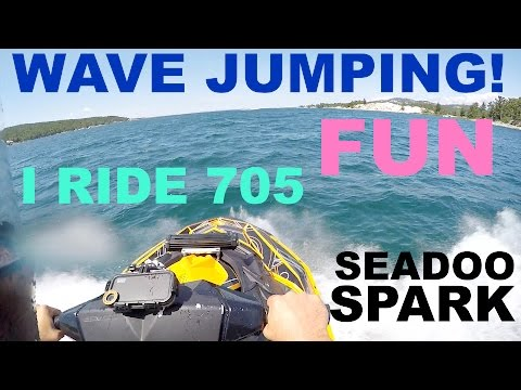 #21 Wave Jumping fun !! with seadoo spark jet ski blog