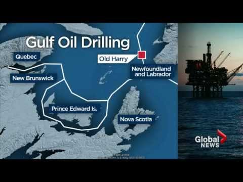 Drilling in the Gulf of St. Lawrence