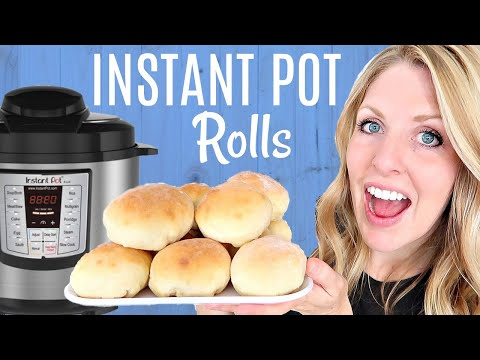 How to Make Instant Pot Rolls FAST! - 1 HOUR Start to Finish!