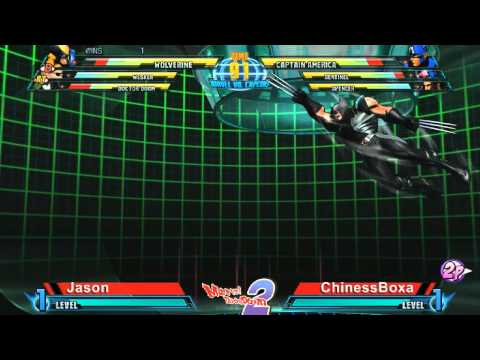 Jason vs ChinessBoxa - Marvel Throwdown 2 @ Metropolis Comics And Toys