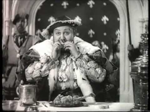 Charles Laughton as King Henry VIII - Chicken Eating Scene