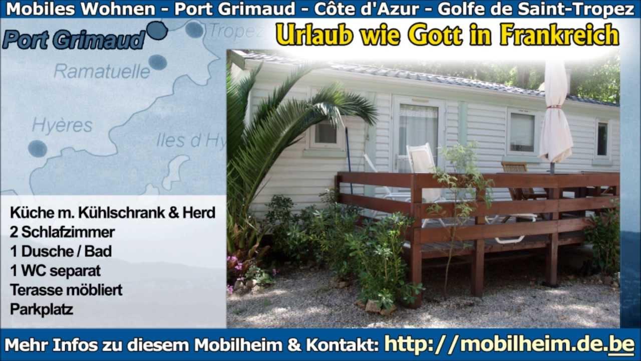 Mobilheim Kaufen Port Grimaud : Mobilheim kaufen port grimaud camping les prairies de la mer port
