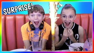 We take the kids to a restaurant called the Sugar Factory where we ...