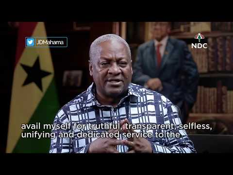 John Mahama announces intent to contest for NDC flagbearership