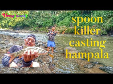Casting Hampala Pake Spoon Emng Killer Abis!!!