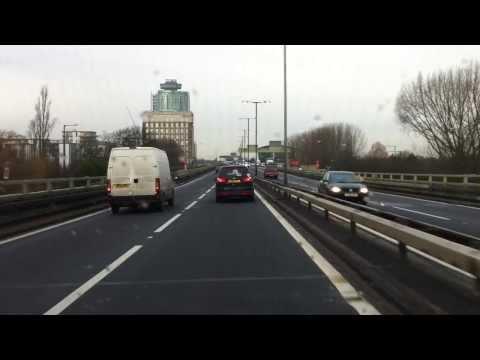 London streets (281.) - Wolseley Gardens (W9) - M4 - A404 - Bisham (SL7)