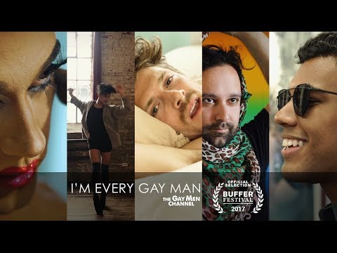 I'M EVERY GAY MAN (Music Video Tribute) | The Gay Men Channel