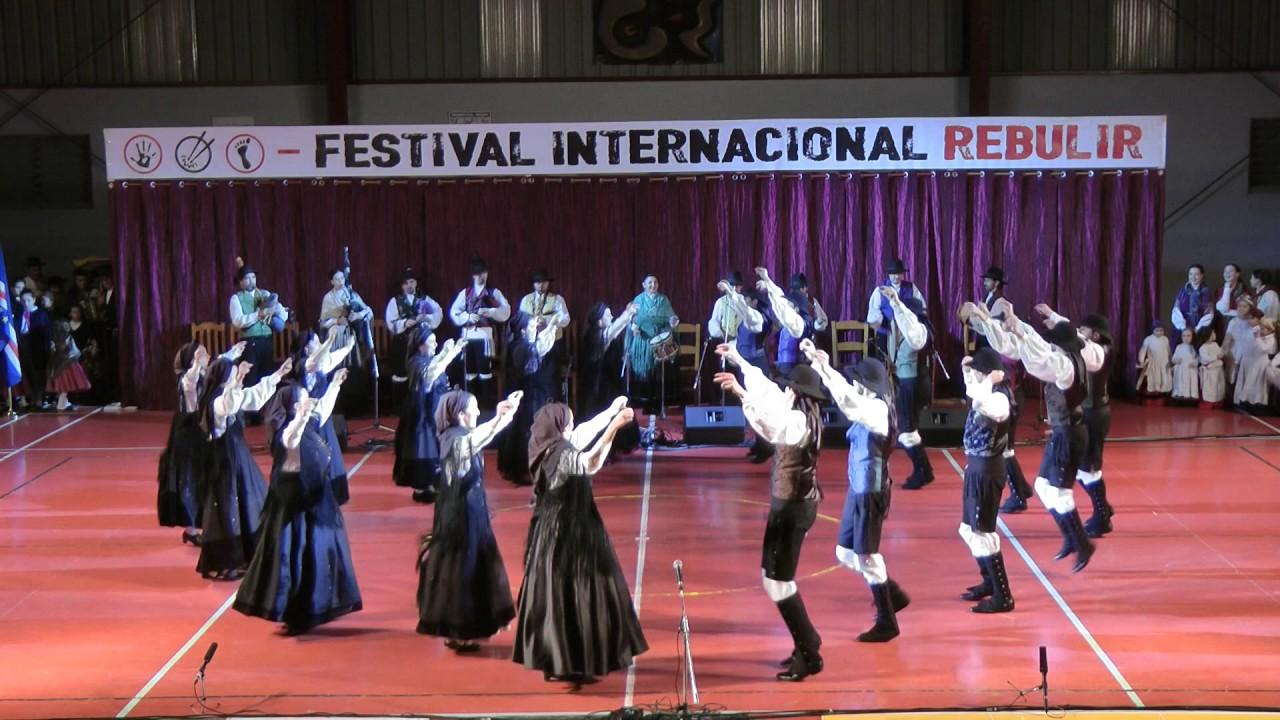 Galician folk dance: Xota de Ordes