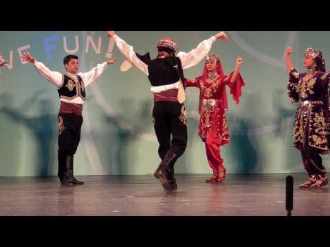 (Hacettepe University Children Folk Dance Group)Turkey folkdance-Brave warrior dance