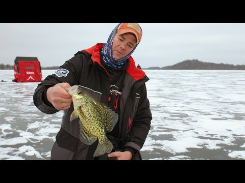 First Ice Minnesota Crappies - In-Depth Outdoors TV Season 14, Episode 1