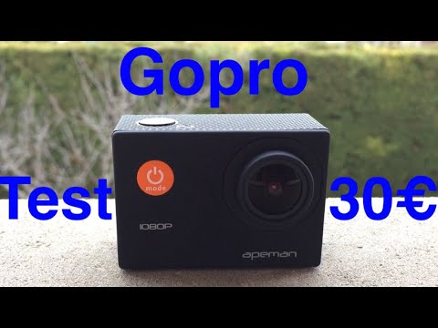 JE TEST UNE GOPRO A 30€