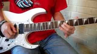 Guitar Solo Lesson - Happy Birthday Rock Anthem