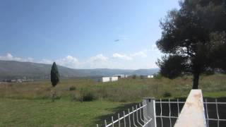 Mistral Air Mostar take-off  to Rome 18.9.2014.