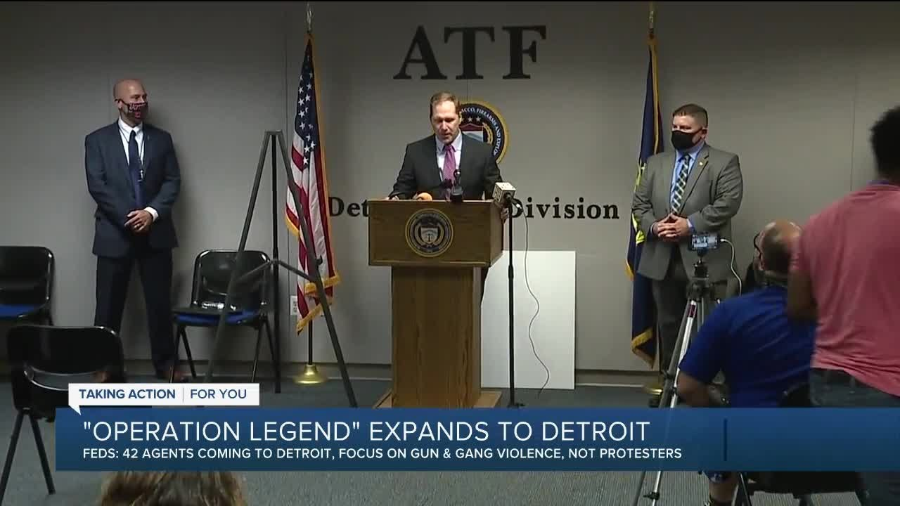 Feds arrest 22 in Detroit under Operation Legend