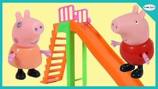 Peppa Pig English Episodes - Peppa at School Playground