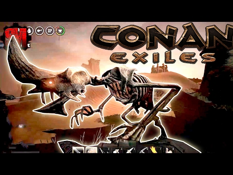 CITY OF CORRUPTION! (The Quest for Iron Ore) - Conan Exiles Online Multiplayer Gameplay Ep2