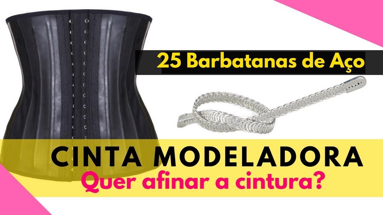 7070685ed Cinta Modeladora Emborrachada com 25 Barbatanas de aço - YouTube