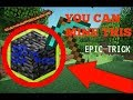 [Minecraft] How to mine BEDROCK with a DIAMOND PICKAXE!!! (LEGIT)