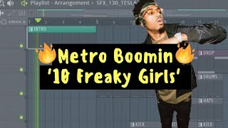 How To Make METRO BOOMIN Transitions | FL Studio 20 x Serato Sample Tutorial
