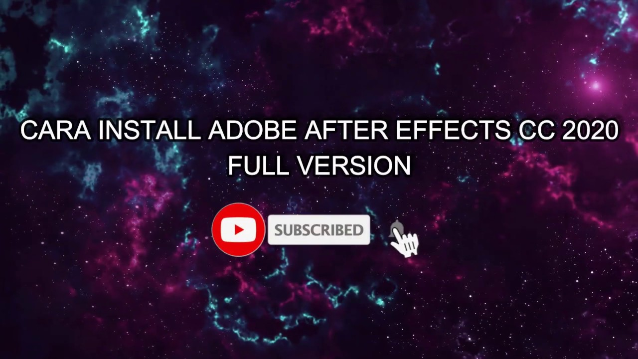 After effects free youtube