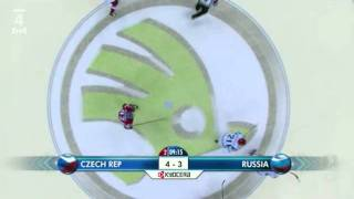 Ms 2011 Česko- Rusko 7:4  Hattrick Červenka